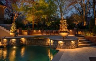 best backyard lighting in Kansas City